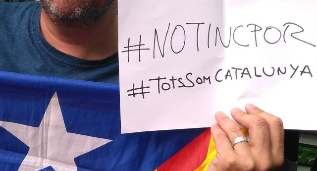 170 asociaciones catalanas rechazan el Terrorismo y la presencia del rey Felipe VI