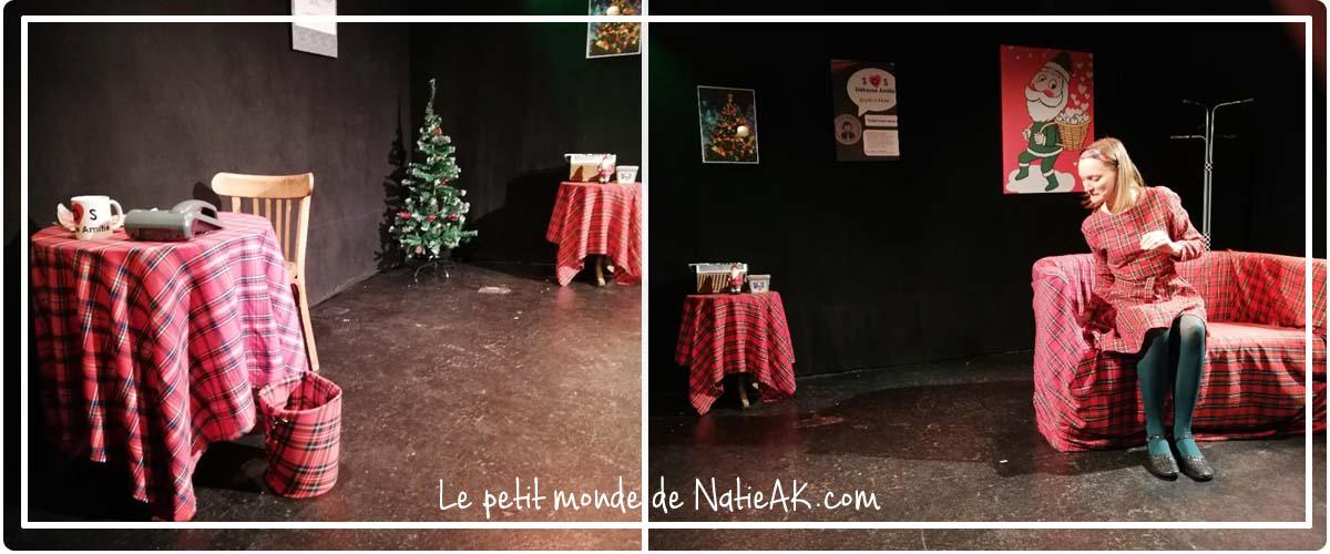 Le père Noël est une ordure au théâtre :une version différente du film