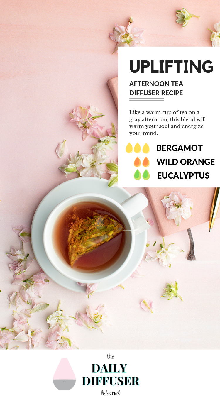 Afternoon Tea Essential Oils Diffuser Recipe
