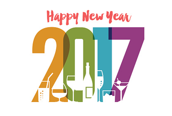 CHEERS TO A HEALTHIER AND WEALTHIER 2017