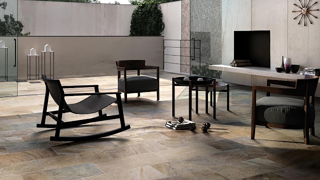 Tiles for floor design Kosmos collection - Fine porcelain stoneware