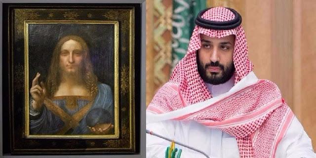"""وول ستريت جورنال: محمد بن سلمان هو من اشترى لوحة """"مُخلّص العالم"""" بهذا المبلغ الخرافي"""