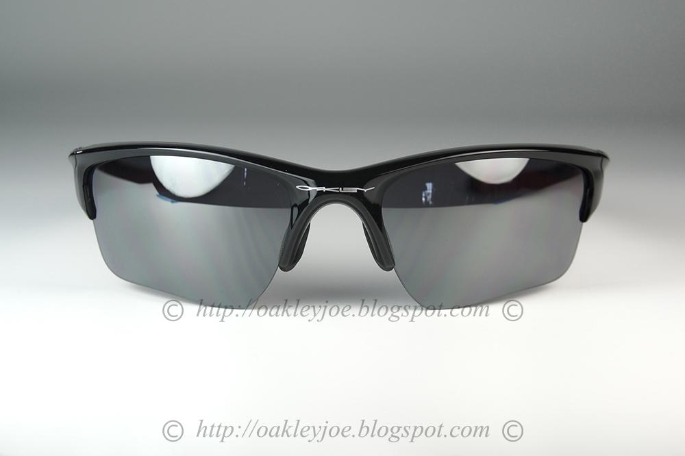 b3c0e5e76c6 Custom Half Jacket 2. Asian Fit polished black + light grey polarized  230  lens pre coated with Oakley hydrophobic nano solution