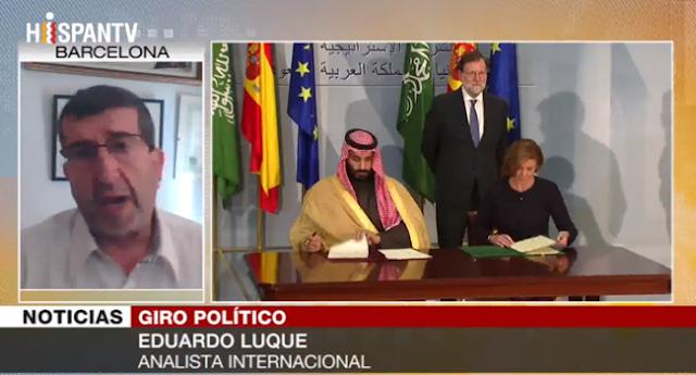 PSOE usa la retórica a su antojo para vender armas a Arabia Saudí