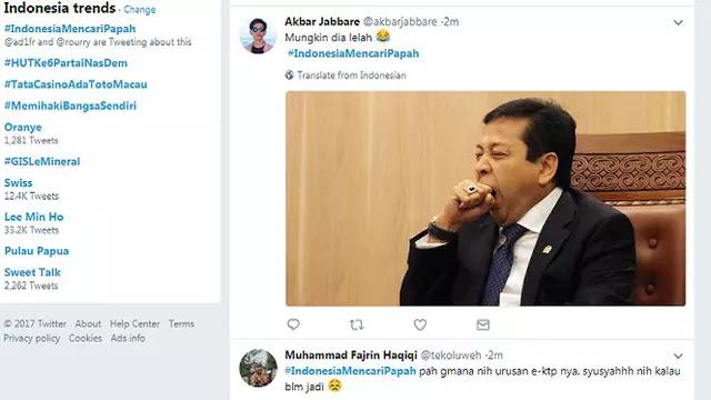 #IndonesiaMencariPapah