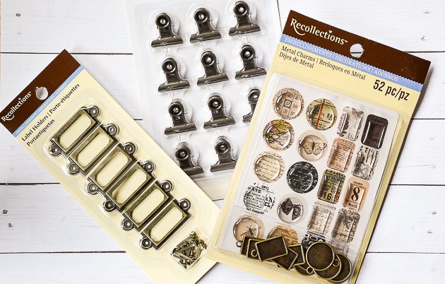 metal label holders, recollections, metal clips