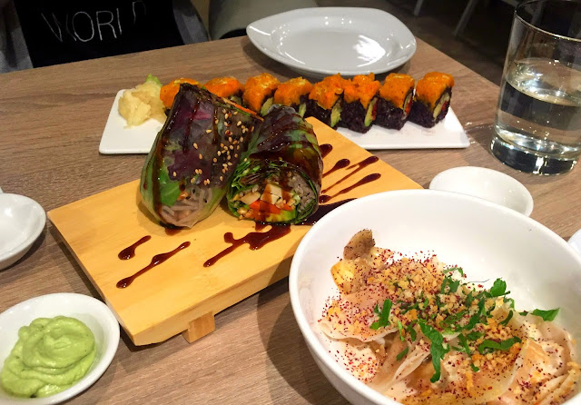 Beyond Sushi Midtown New York - Vegan Restaurant in New York - Vegan Sushi Bar NYC
