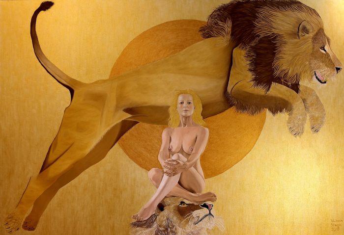 Аргентинский художник. Victoria Stagni