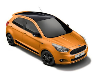 Ford Ka + Black Edition Sporty Special Model