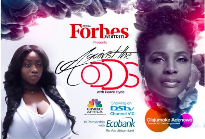 """Olajumoke Adonowo, Founder of AD Consulting talks Finding her Purpose on a New Episode of """"Against the Odds with Peace Hyde"""". Watch Teaser"""