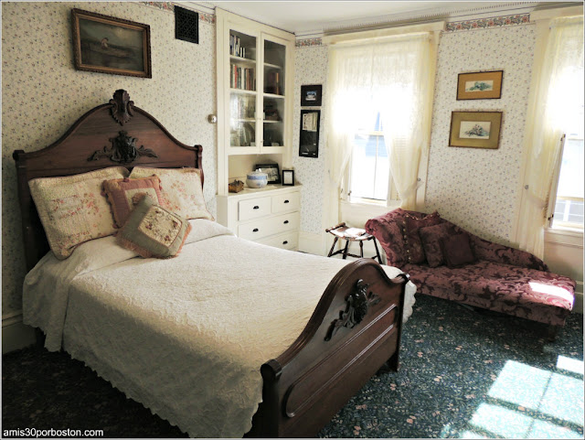 Lizzie Borden Bed & Breakfast Museum: Habitación de Lizzie Borden