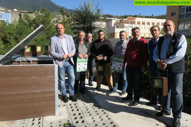 El Cabildo inaugura en Santa Cruz de La Palma el segundo punto de compostaje comunitario de Canarias
