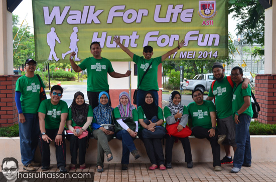 Program AGM Alumni SEMESTI Walk Hunt 2014