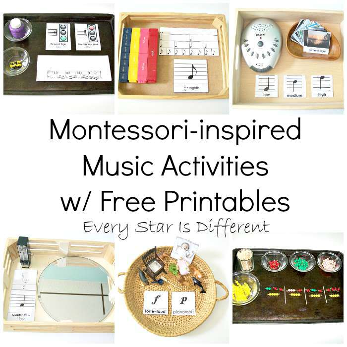 Montessori-inspired Music Activities