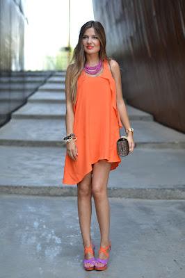 Vestidos Naranjas