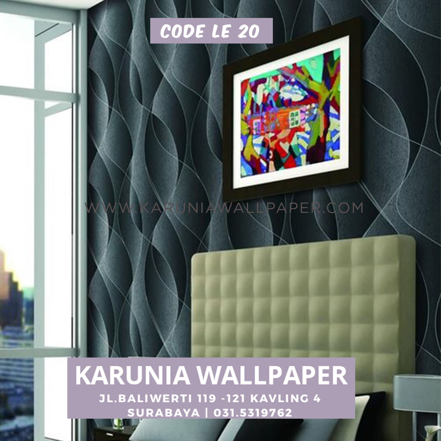 jual wallpaper dinding karunia wallpaper surabaya