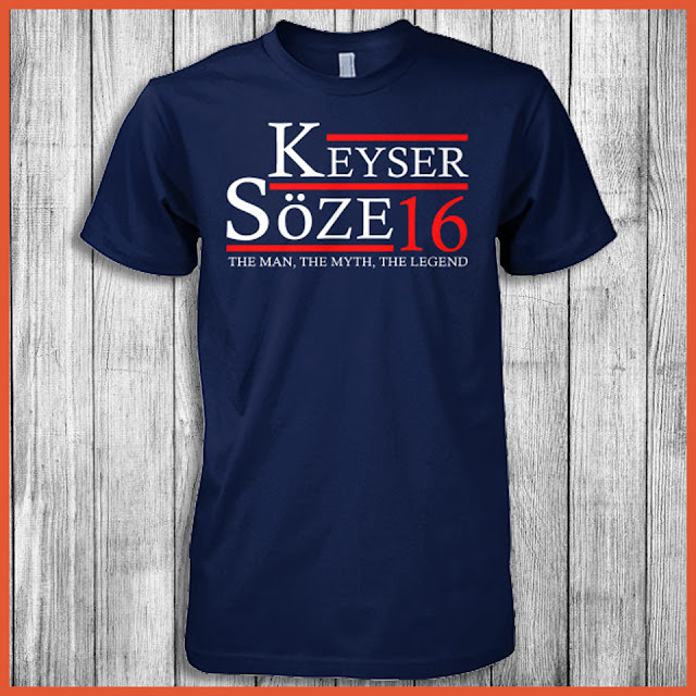 Keyser Söze 16 The Man, The Myth, The Legend Shirt