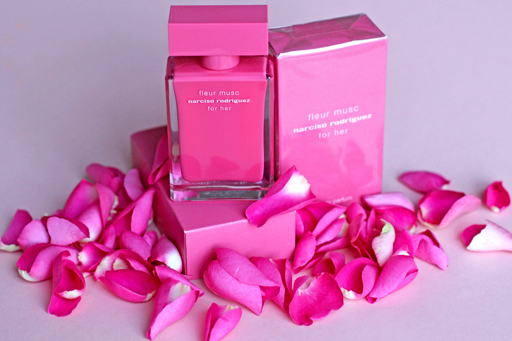 Narciso Rodriguez Fleur Musc eau de parfum fragrance - UK beauty blog