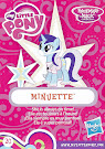 My Little Pony Wave 18 Minuette Blind Bag Card