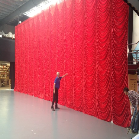 Theatre & Cinema Curtains Supplies | Imported Theatre
