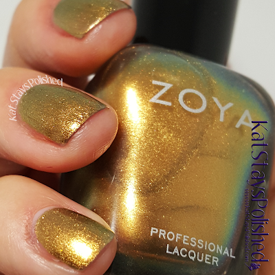 Zoya Flair 2015 - Aggie | Kat Stays Polished