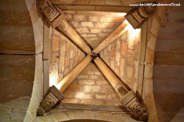 Cúpula baldaquino Iglesia monasterio S. Juan de Duero, Soria
