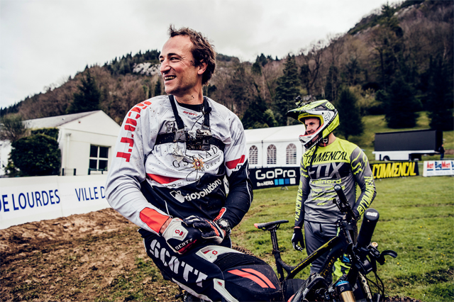 2016 Lourdes UCI World Cup Downhill: Claudio Caluori's Track Preview