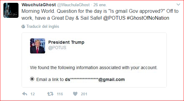 Twitter para Trump