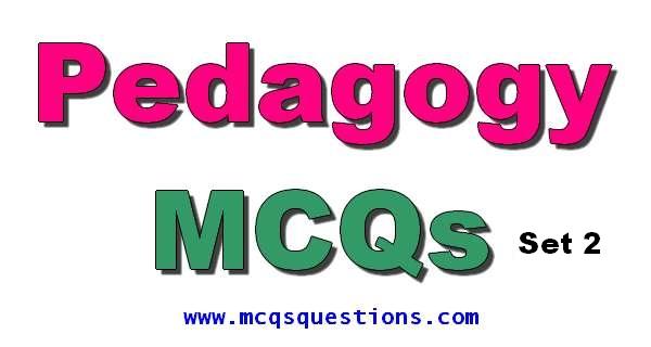 Educators Jobs Pedagogy Mcqs For NTS Set 2
