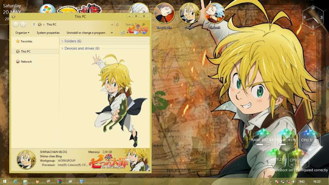 Windows 8.1 Theme Nanatsu no Taizai by Bashkara