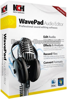 WavePad Sound Editor Masters Edition 7.00 [Full Crack] โปรแกรมตกแต่งเสียง มิกซ์เพลง อัดเสียง