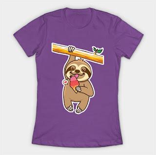 https://www.teepublic.com/t-shirt/2079335-sloth-loves-ice-cream