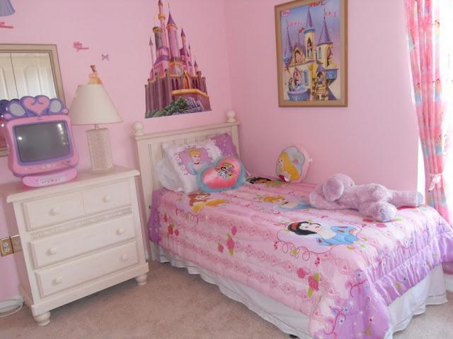 girls princess room decorating ideas