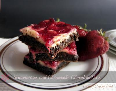 May bars2a Strawberries and Cheesecake Chocolate Bars