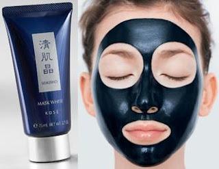 kose seikisho white mask ลอกสิวเสี้ยน