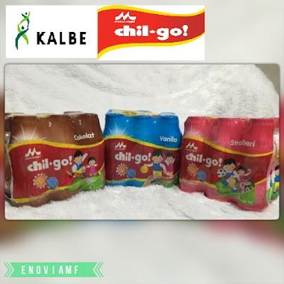 Susu Morinaga Chil-Go! dengan 3 varian rasa