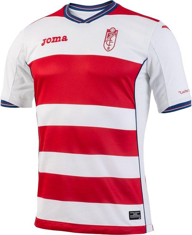 2aa54035d4 Joma apresenta novas camisas do Granada - Show de Camisas