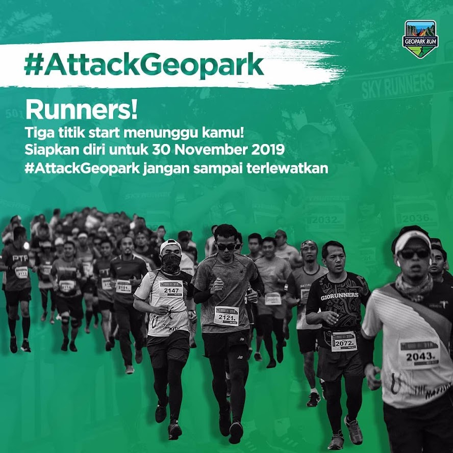 Minang Geopark Run - Attack Geopark • 2019