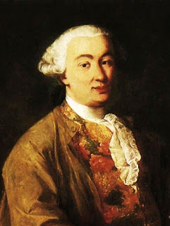 The playwright Carlo Goldoni