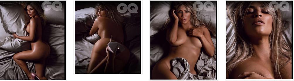 Kim Kardashian Nude Image