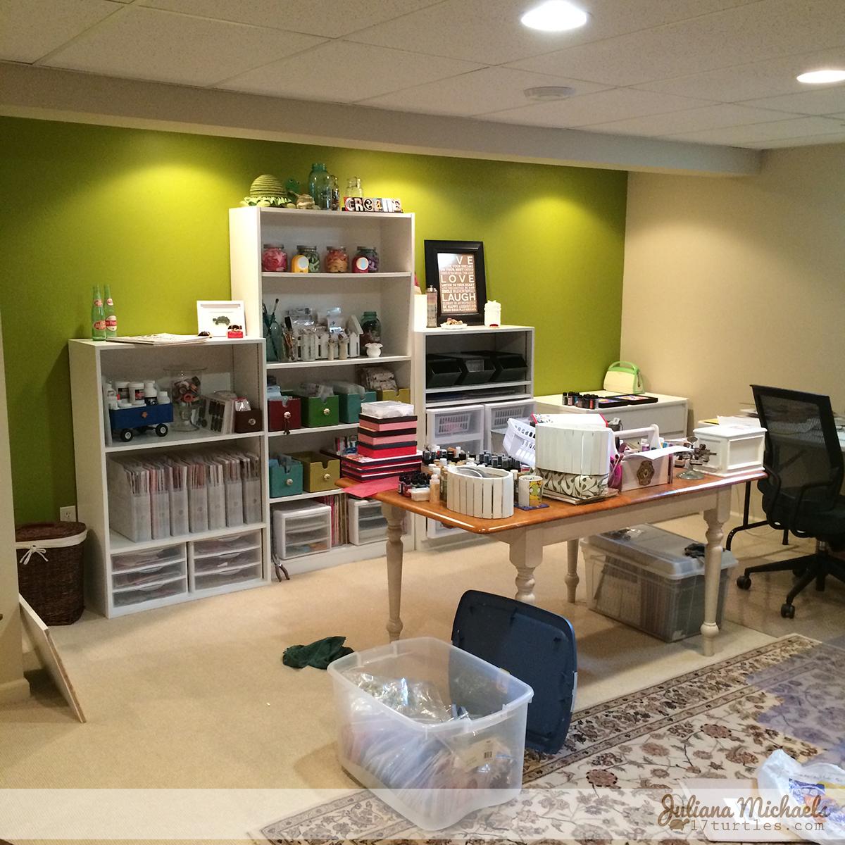 Scrapbook Room Makeover Part 2