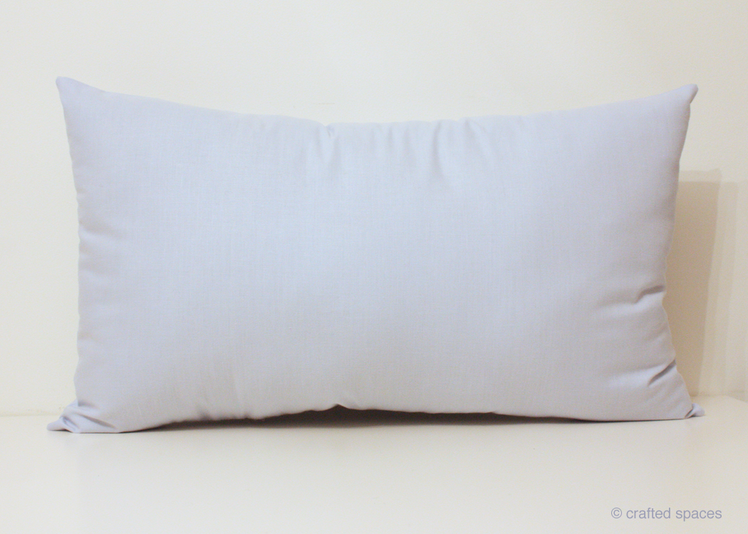 Crafted Spaces Crafty Home How to Make a Pillow Insert