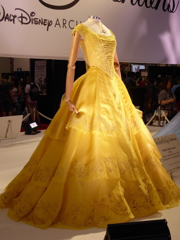 Belle Beauty and the Beast movie dress