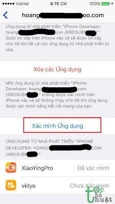 Hướng dẫn cài ứng dụng bên ngoài cho iOS không cần Jailbreak