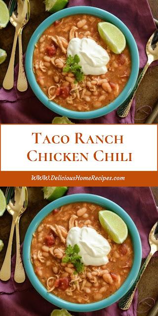 Taco Ranch Chicken Chili
