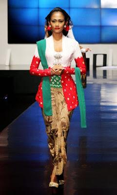 Macam - Macam Model Kebaya Modern Indonesia