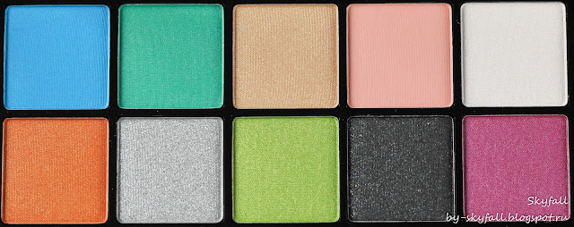 NYX AVANT POP! Shadow Palette ART THROB, отзывы