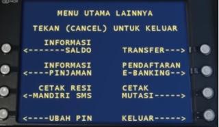 Gambar 2 Tutorial Daftar sms banking mandiri