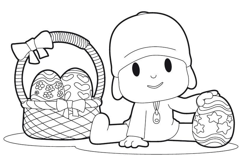 Pocoyo Coloring Pages Pdf : Desenhos do pocoyo para pintar colorir imprimir