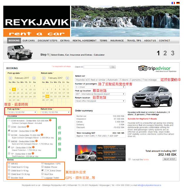 兔兔家族跑跑跑: 【冰島】【租車】Reykjavik rent a car 注意事項